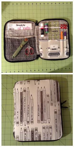 Sew Sweetness Creative Maker Supply Case by Tiffany of This Crafty Fox