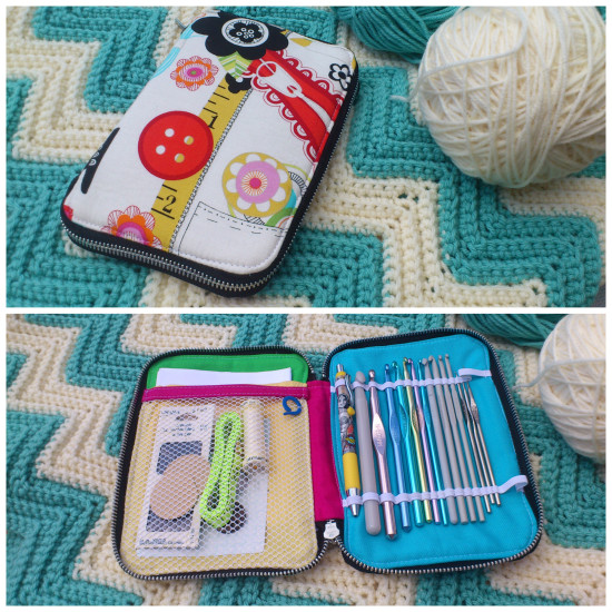 Sew Sweetness Creative Maker Supply Case by W.D. Handbags