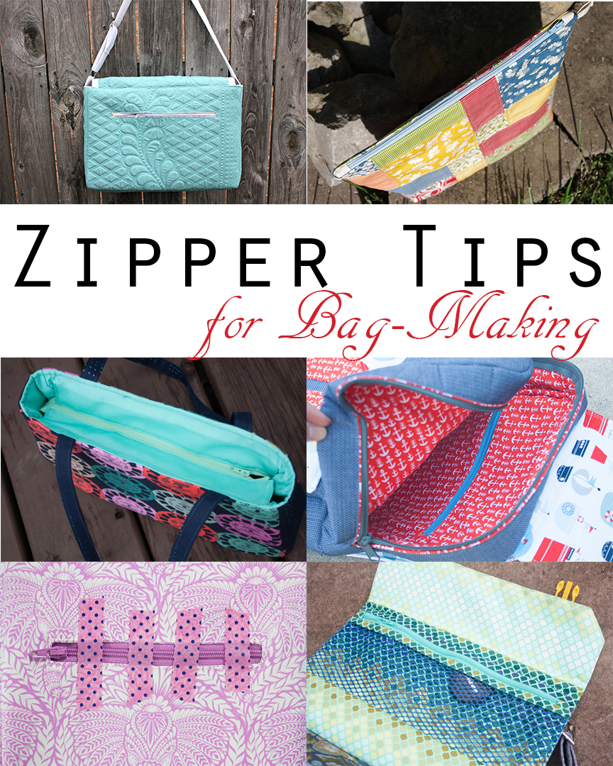 Zipper Tips for Bag-Making