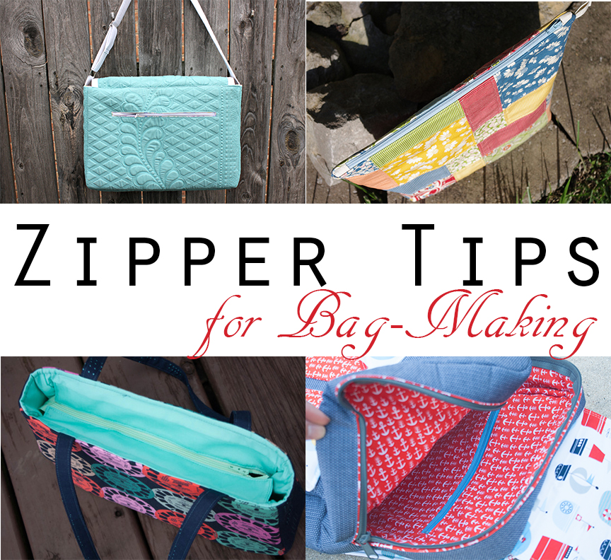 Zipper Tips For Bag Making