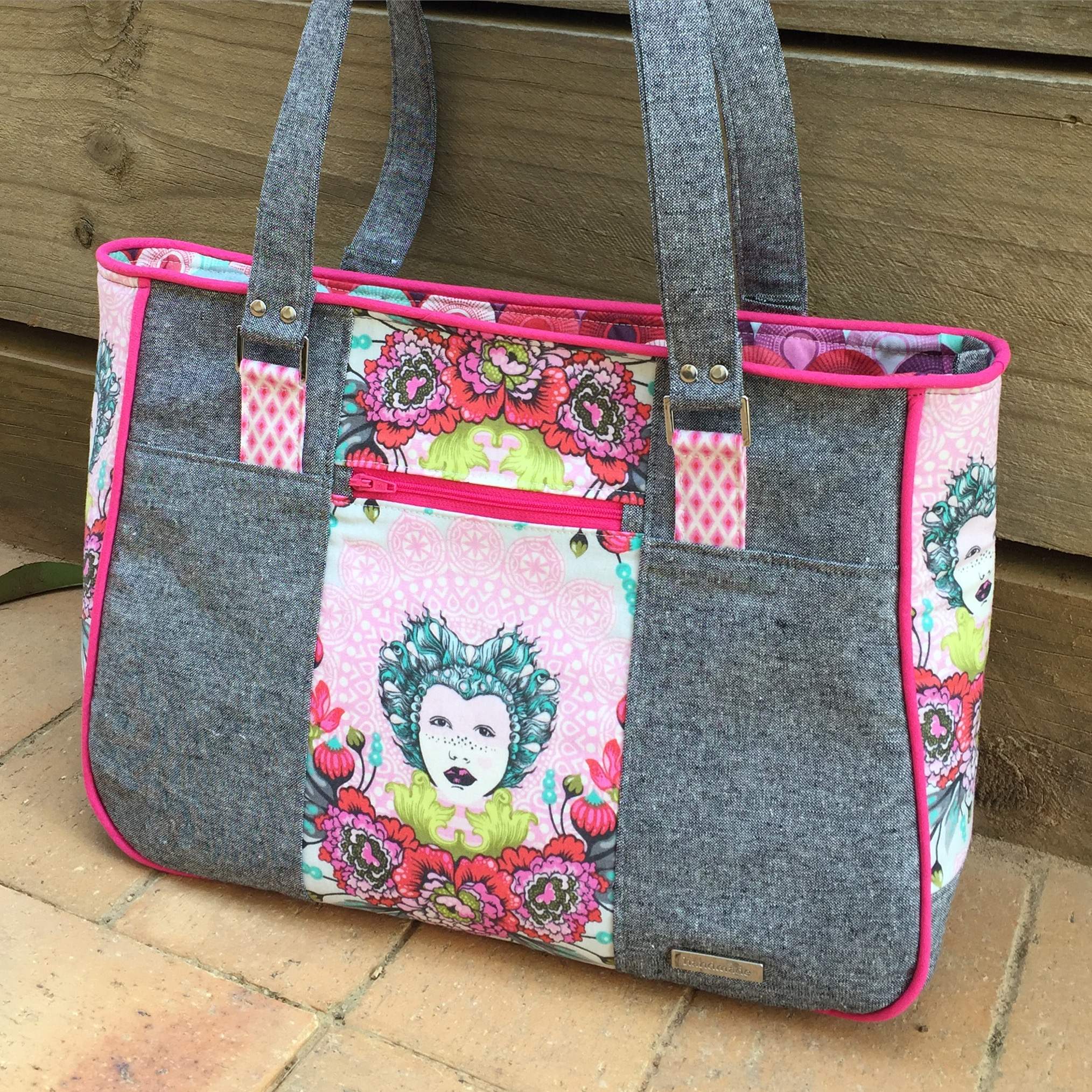 Purse Palooza Pattern Review Two Pretty Poppets Goin