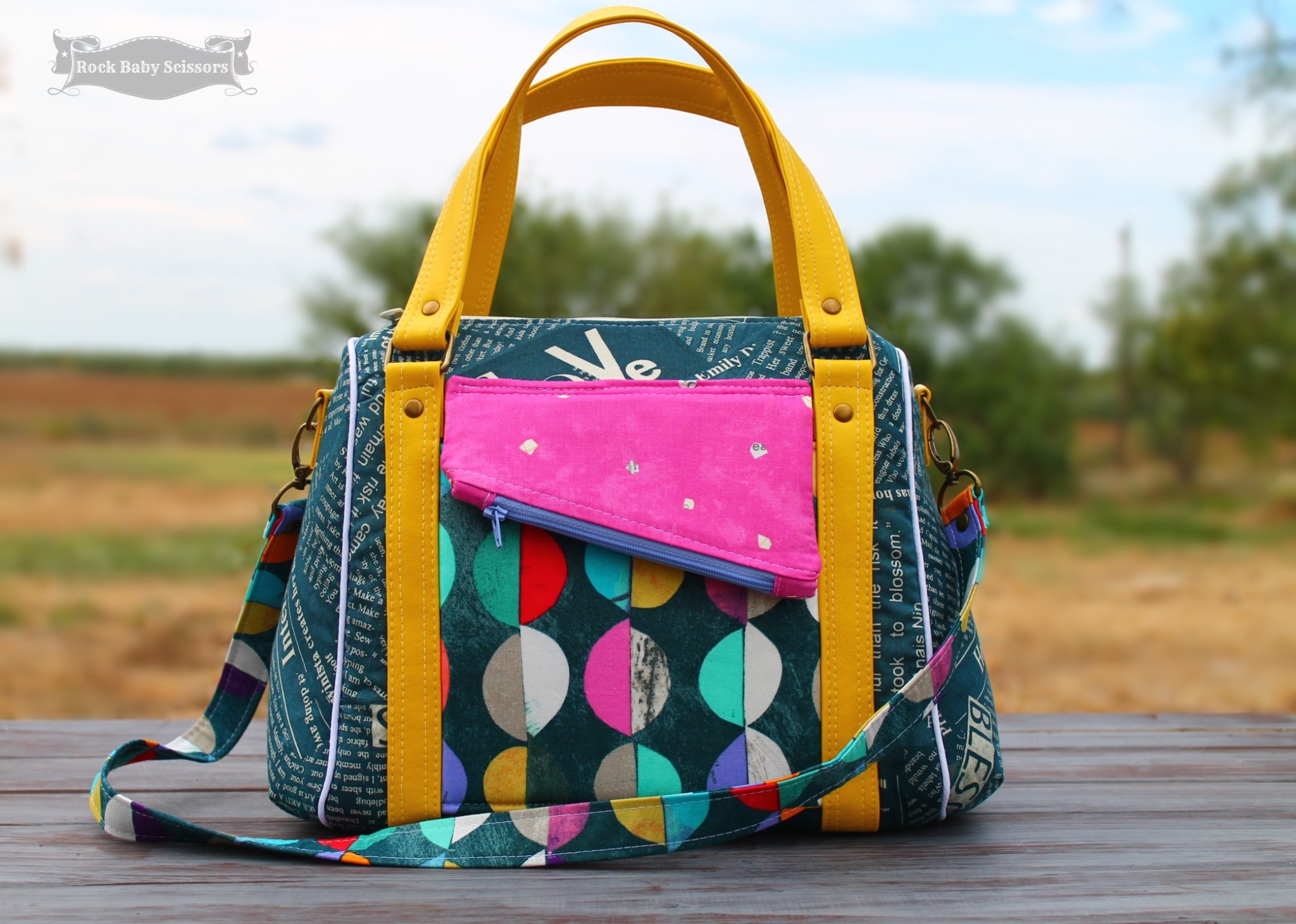 Purse Palooza - Pattern Review - Sew Sweetness Rockstar Bag - Sew ...
