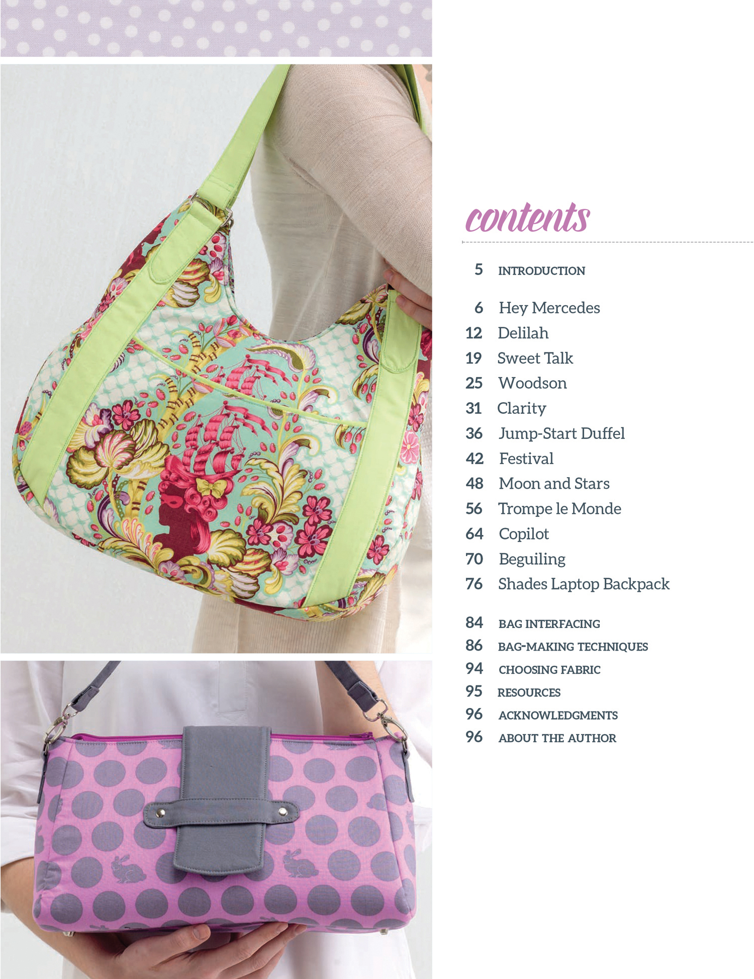 windy city bags book signed copy sew sweetness