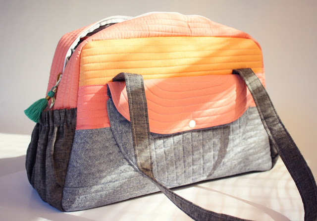 Sew Sweetness Aragon Bag sewn by Hungry Hippie