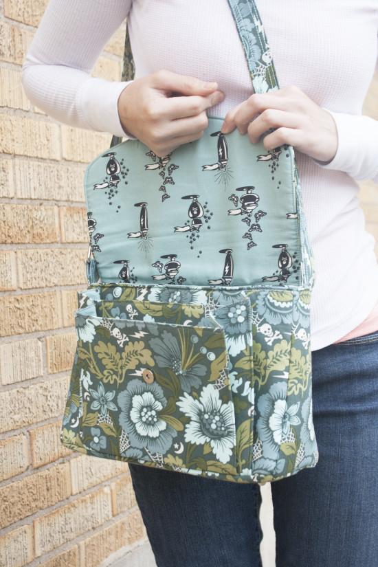 Sew Sweetness Appaloosa Bag sewing pattern