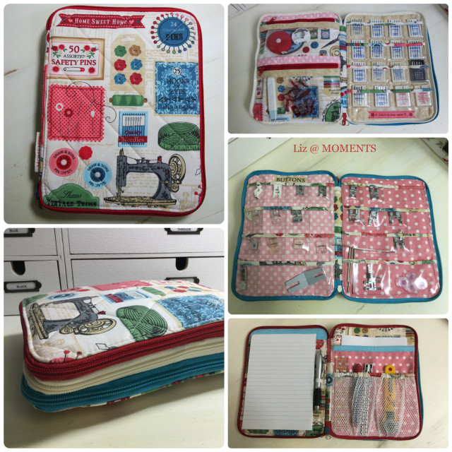 Sew Sweetness Ultimate Art Organizer sewn by Liz of Moments...