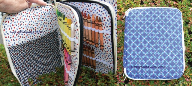 Sew Sweetness Ultimate Art Organizer sewing pattern, sewn by Sandie of Crazy 'bout Quilts