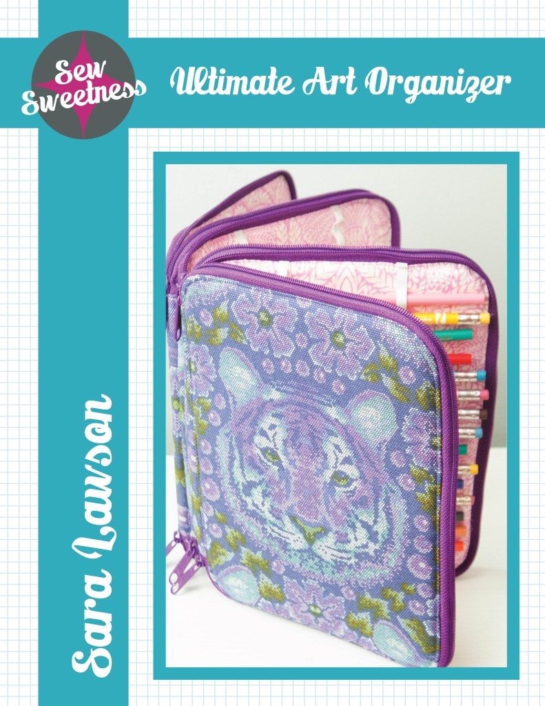 Sew Sweetness Ultimate Art Organizer sewing pattern
