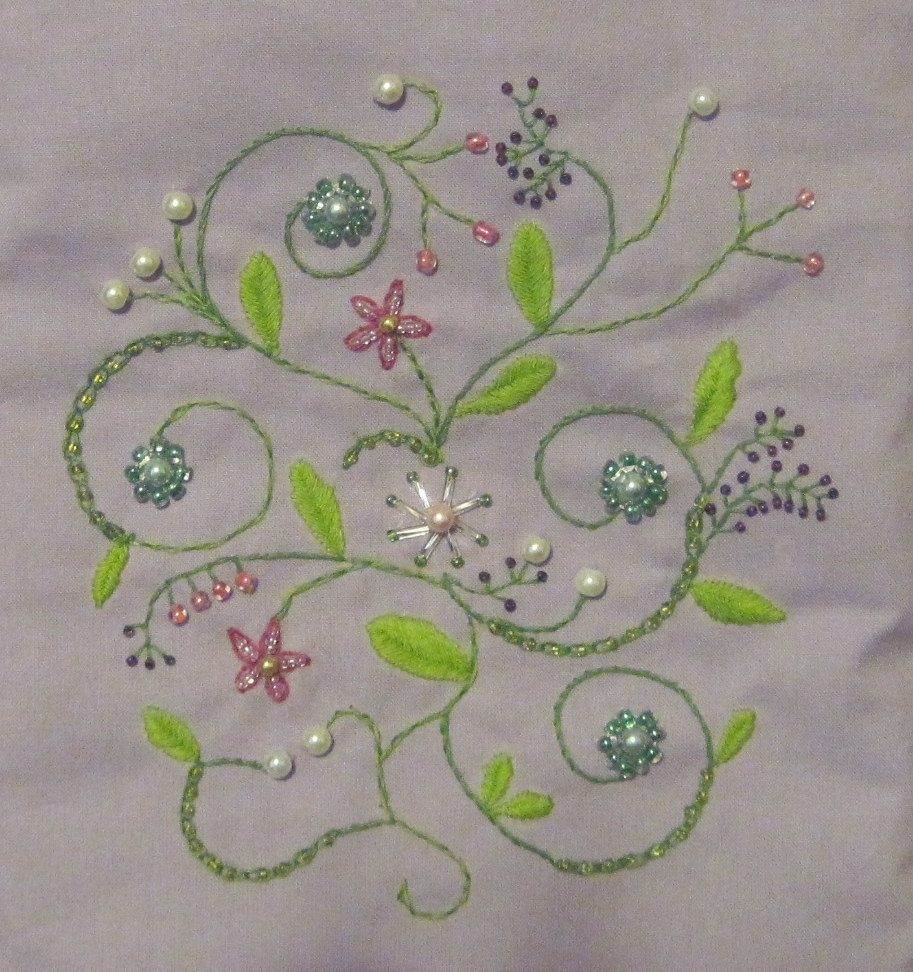 Craftsy Month - Bead Embroidery - Sew Sweetness