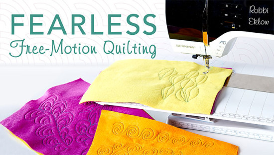 Craftsy class review - Fearless Free-Motion Quilting