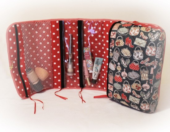 foldable cosmetic bag 003