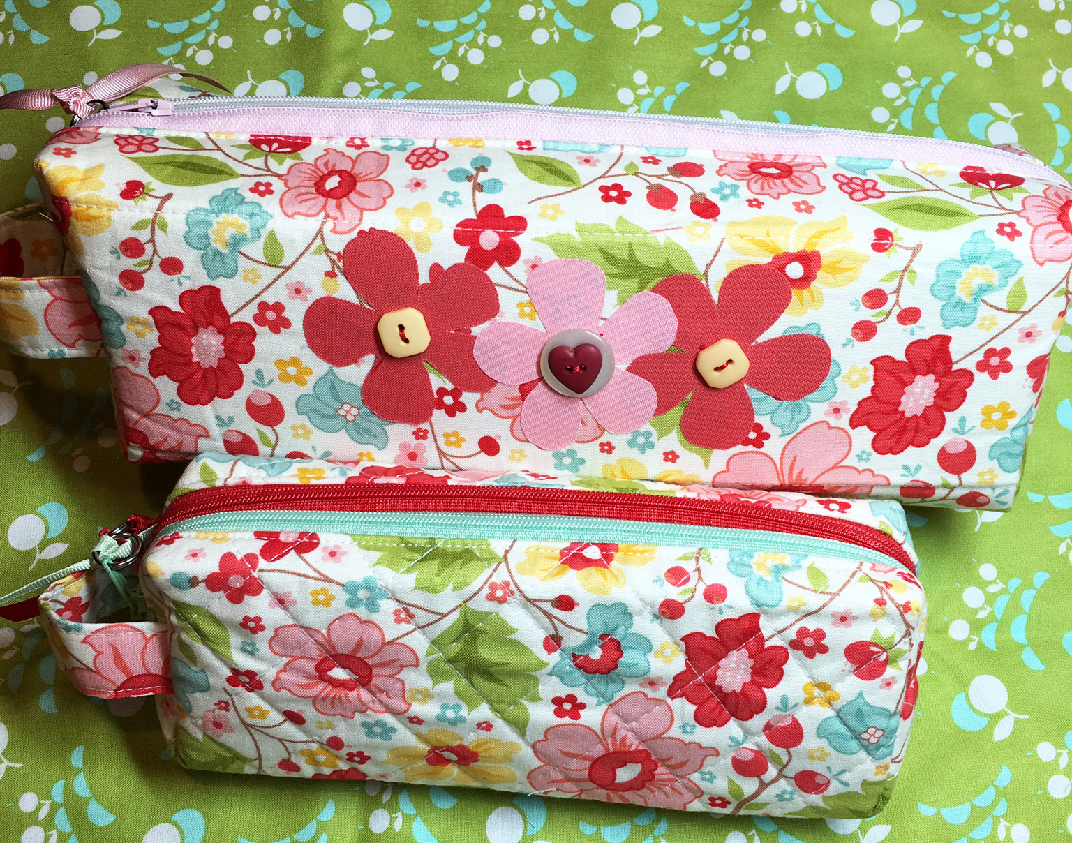 Sew Sweetness Annex Double-Zip Box Pouch, sewn by Mindy