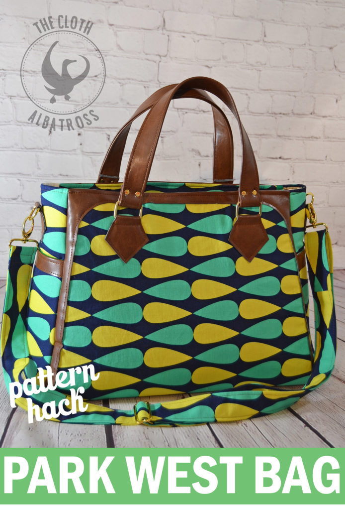 Sew Sweetness Park West Bag Pattern Hack