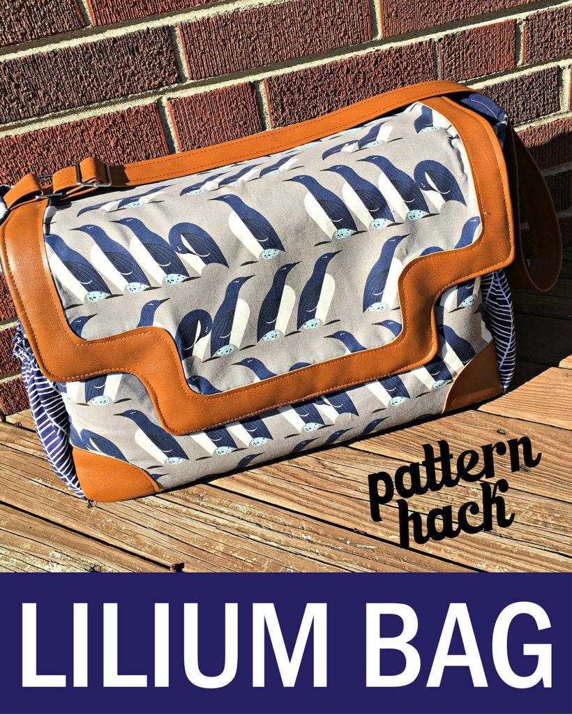 Sew Sweetness Lilium Bag pattern hack