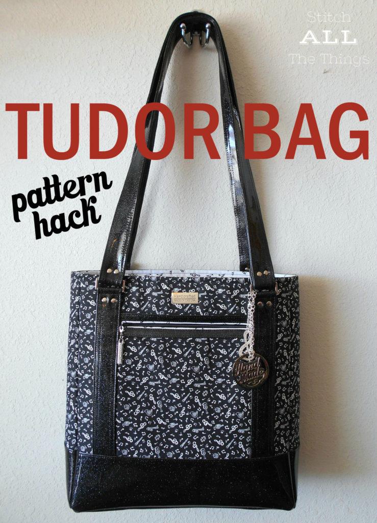 Sew Sweetness Tudor Bag pattern hack