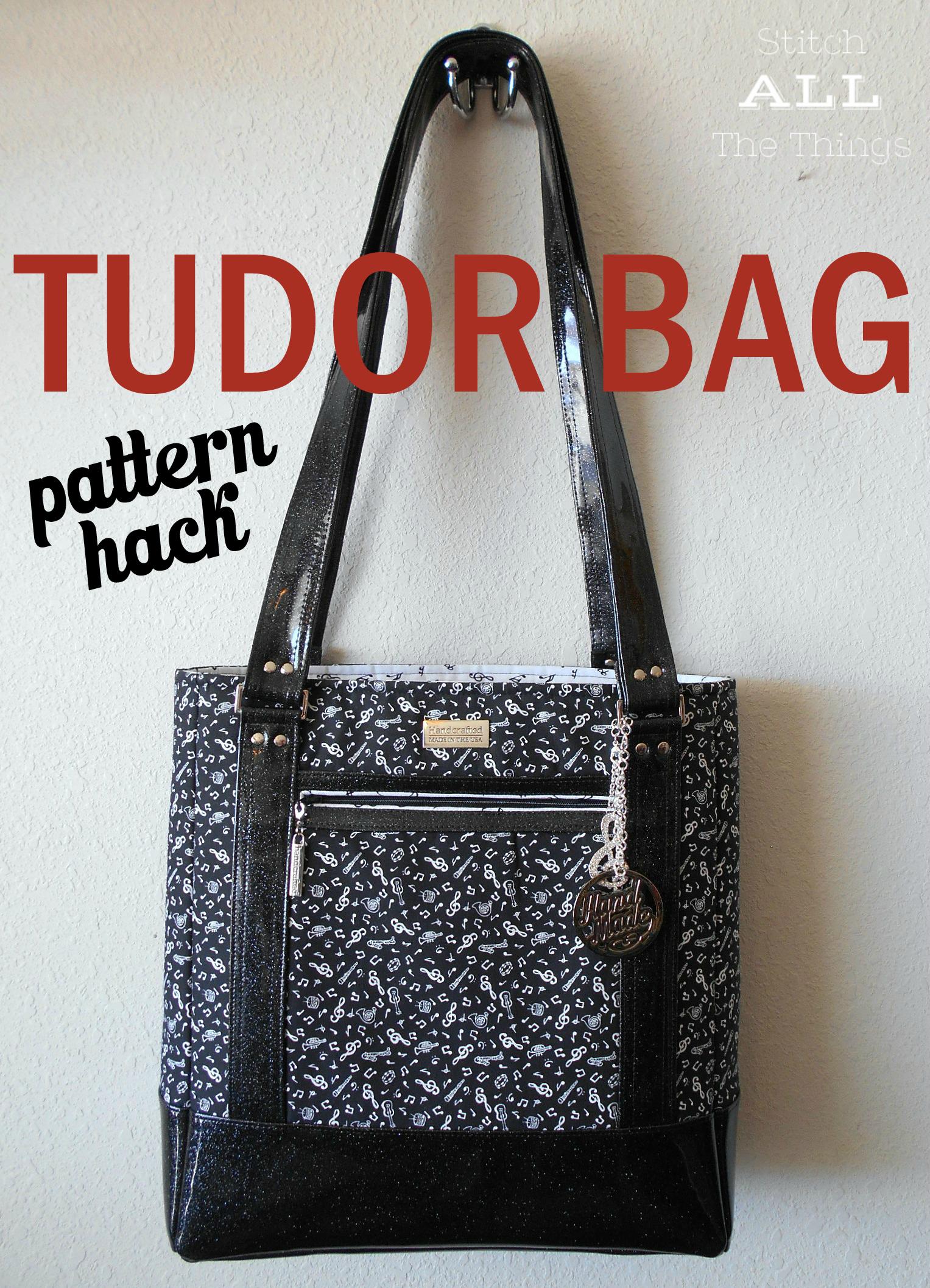 Pattern Hack Tudor Bag Sew Sweetness