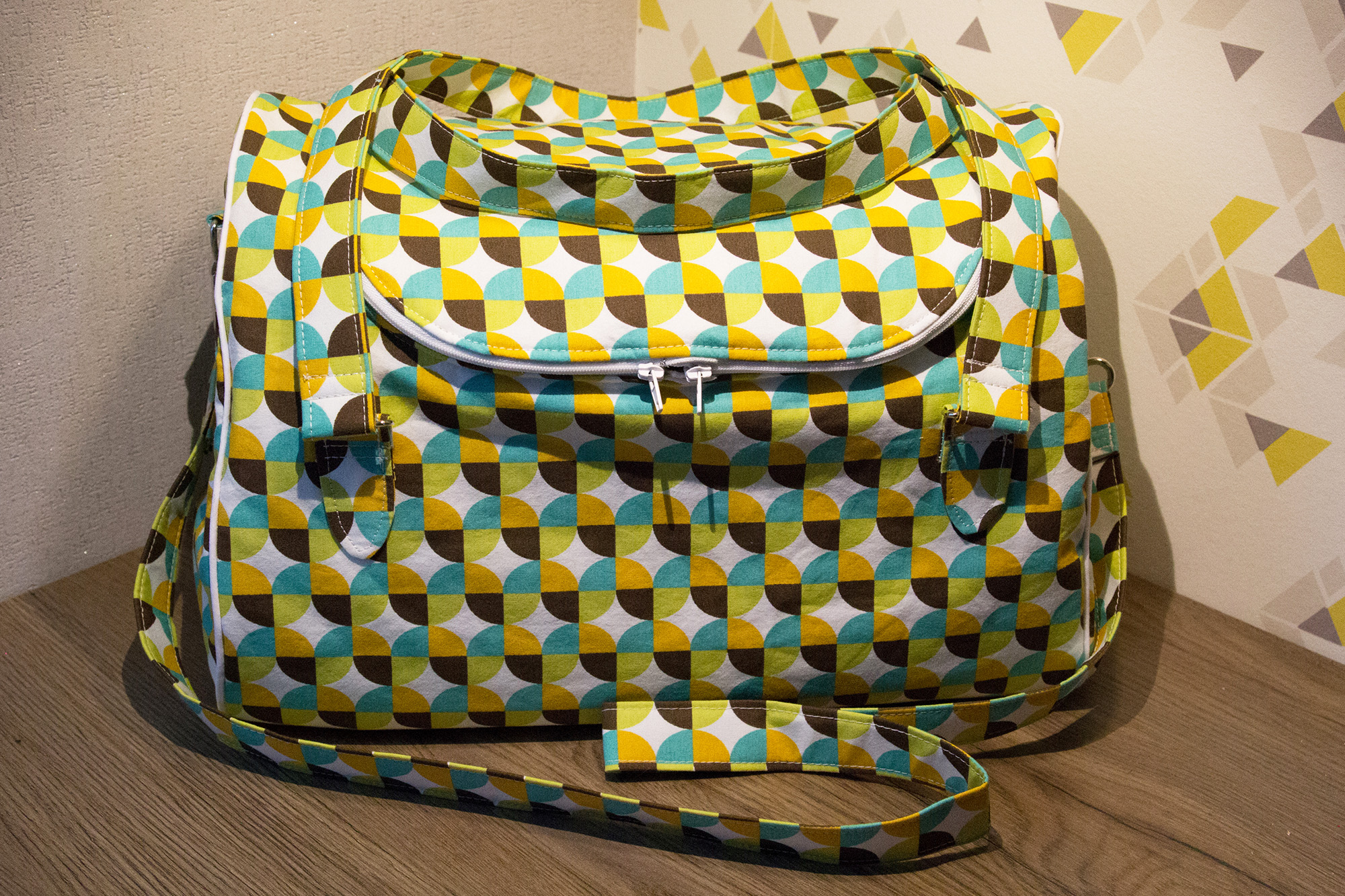 Sew Sweetness Tortoise Bag, sewn by Sophie