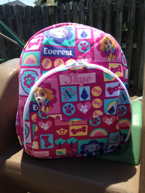 Sew Sweetness Cumberland Backpack, sewn by Nicole