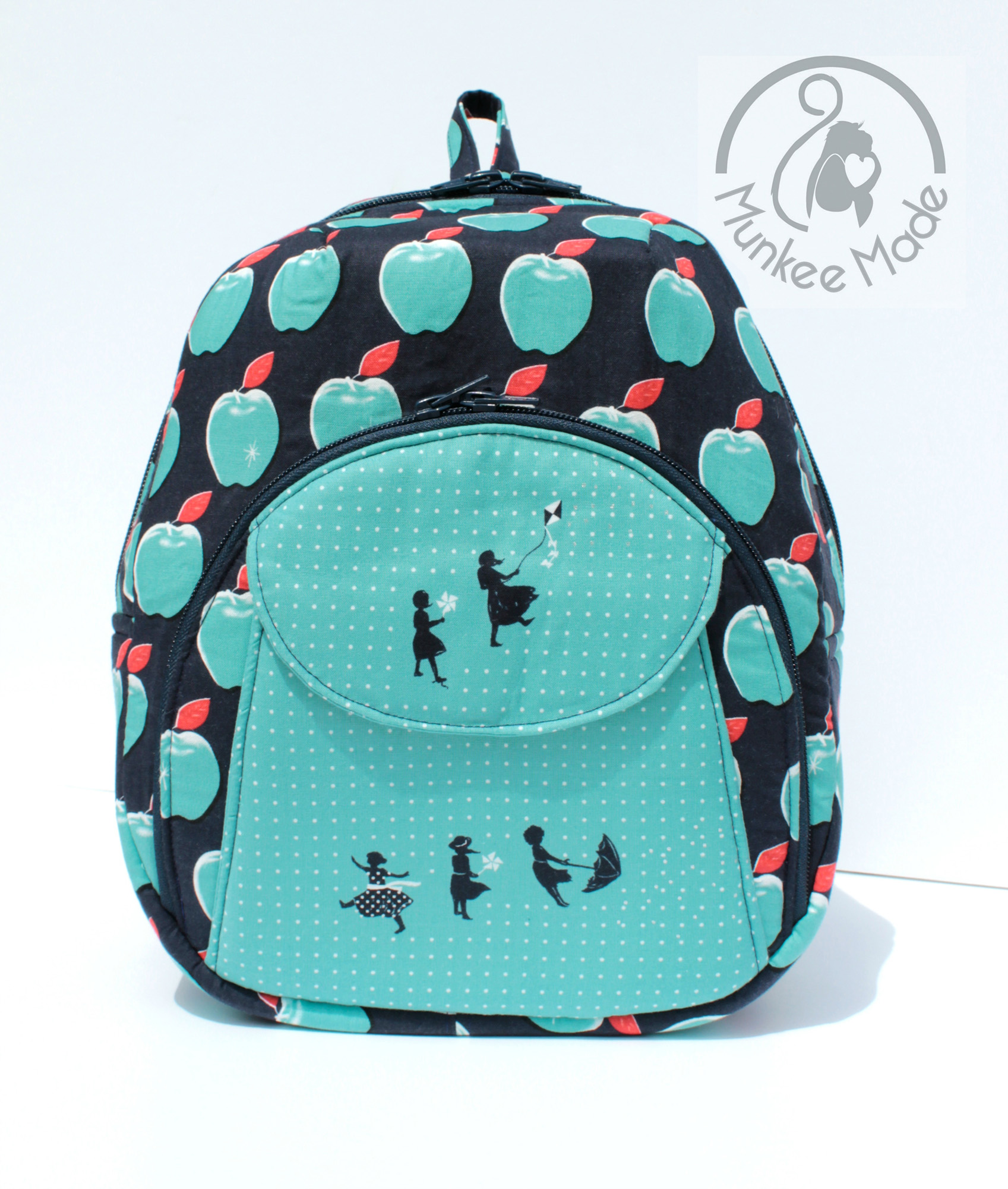 Sew Sweetness Cumberland Backpack, sewn by Sheri of Munkee Made