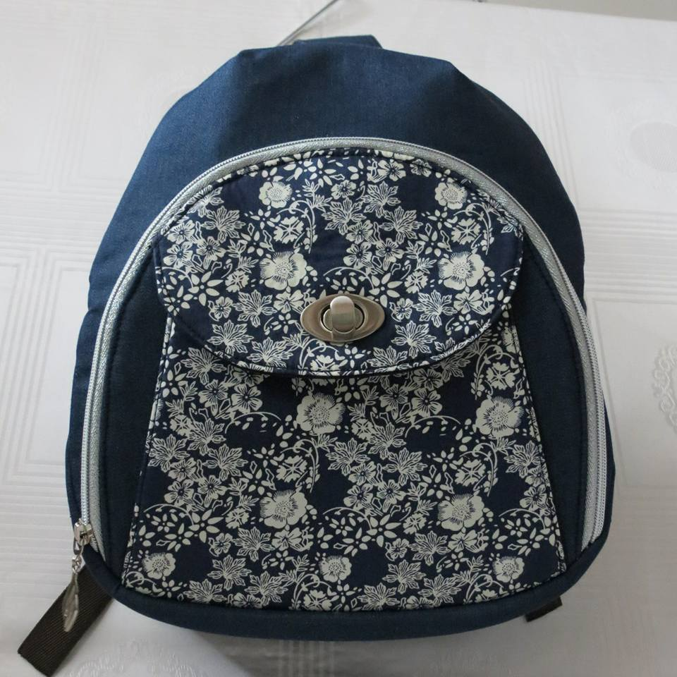 Sew Sweetness Cumberland Backpack, sewn by Maria