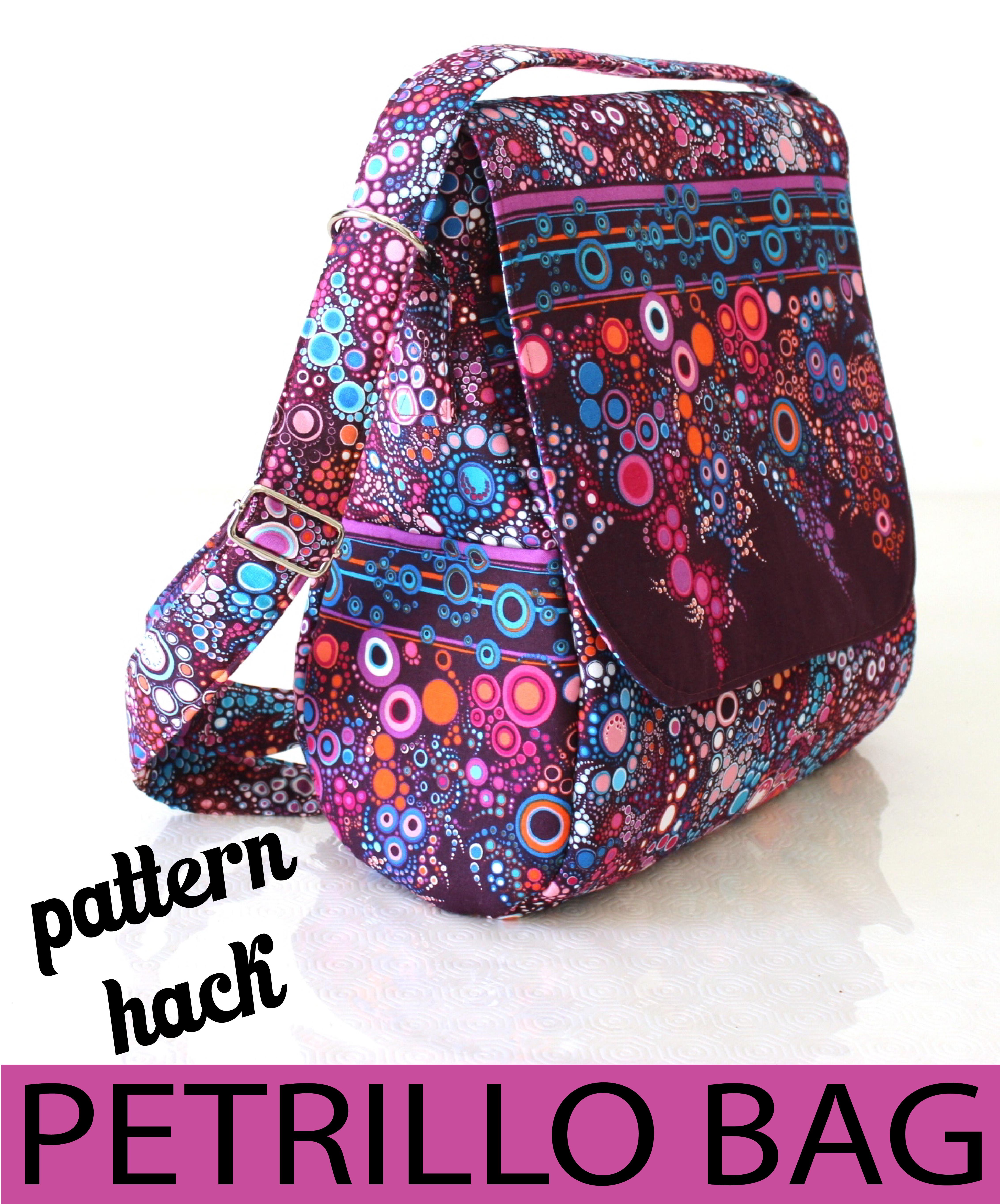 Sew Sweetness Petrillo Bag pattern hack