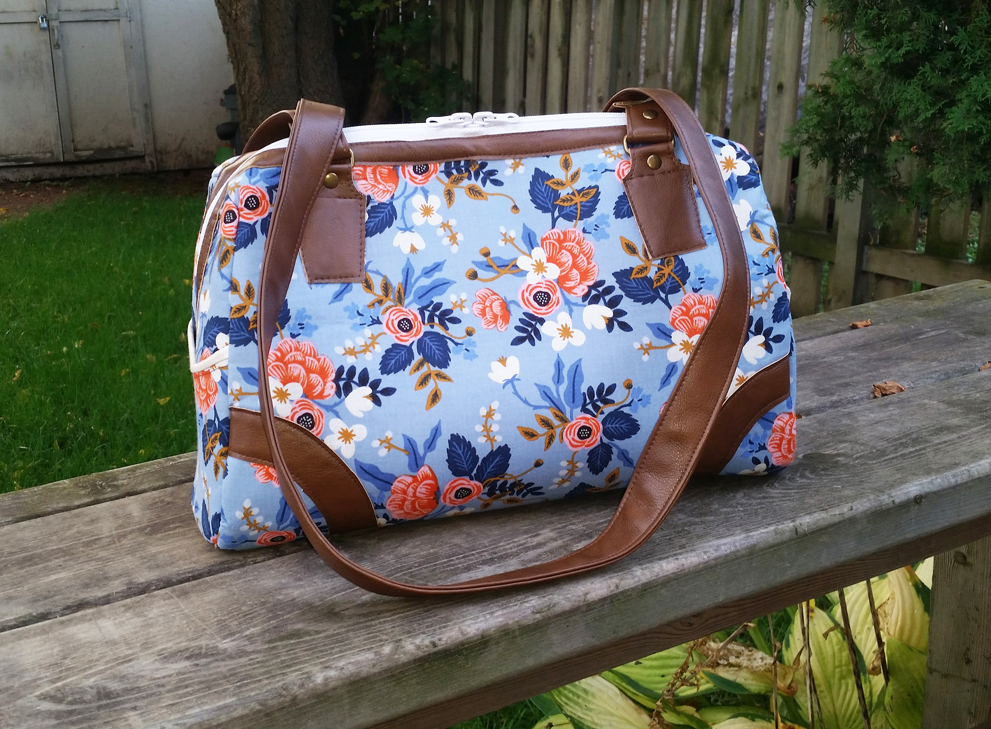 Sew Sweetness Coalition Bag sewing pattern, sewn by Kim