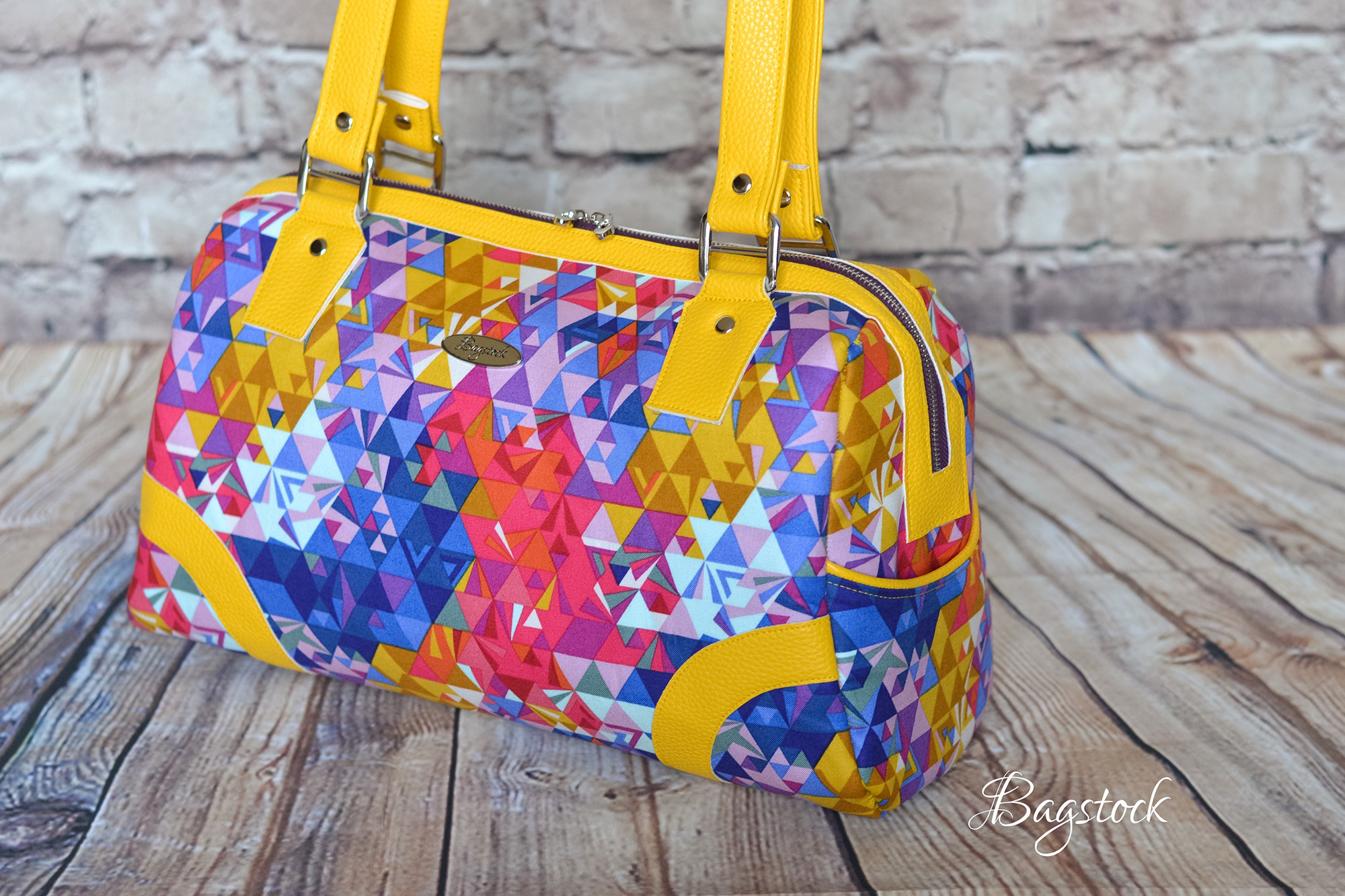 Sew Sweetness Coalition Bag sewing pattern, sewn by Namrata of Bagstock