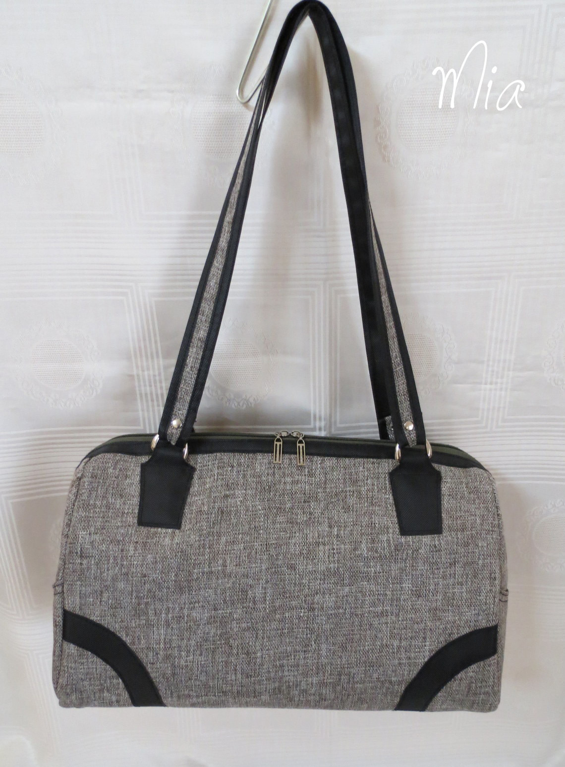 Sew Sweetness Coalition Bag sewing pattern, sewn by Maria