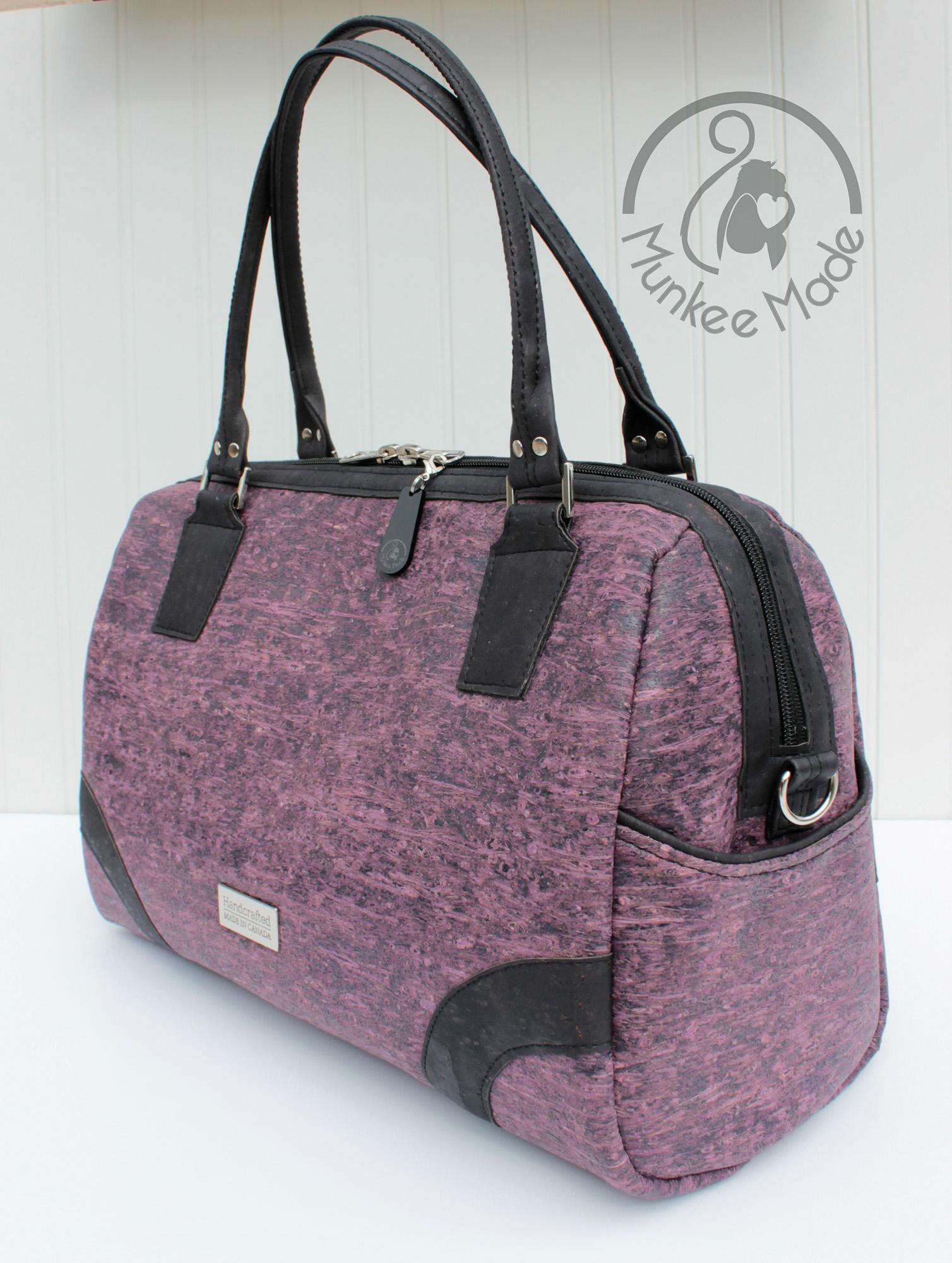 Sew Sweetness Coalition Bag sewing pattern, sewn by Sheri of Munkee Made