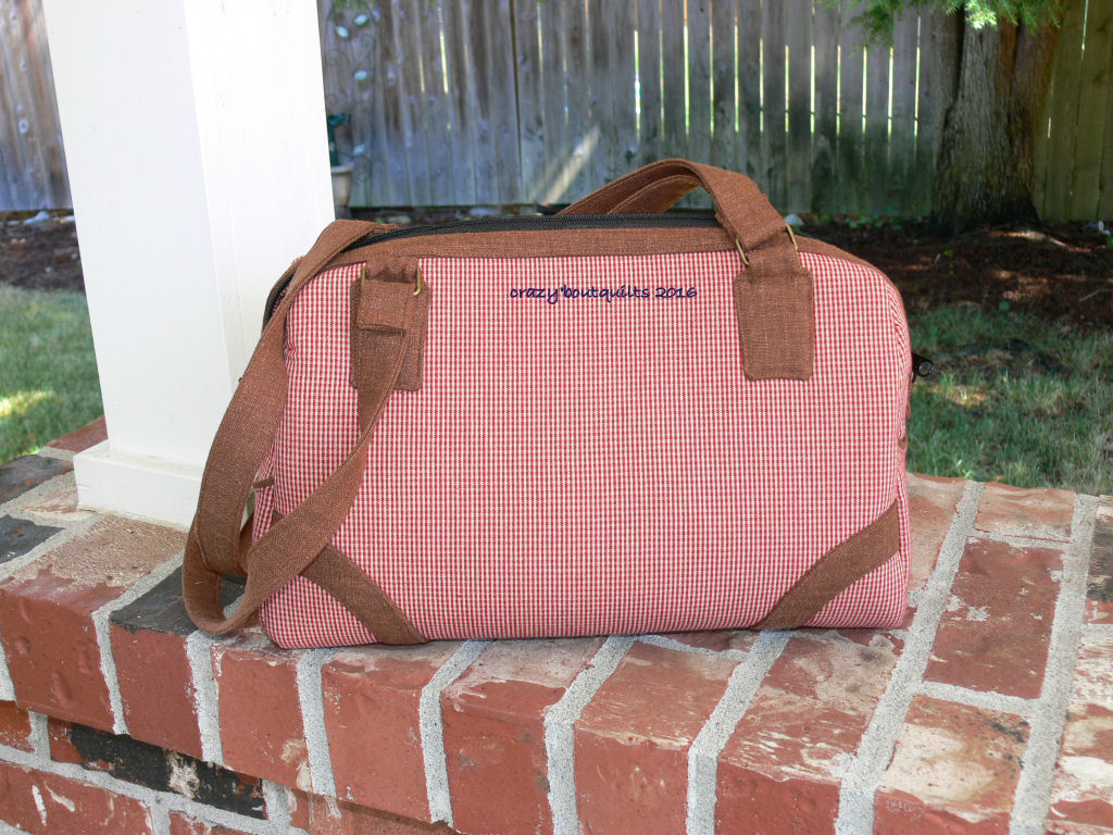 Coalition Bag sewing pattern, sewn by Sandie
