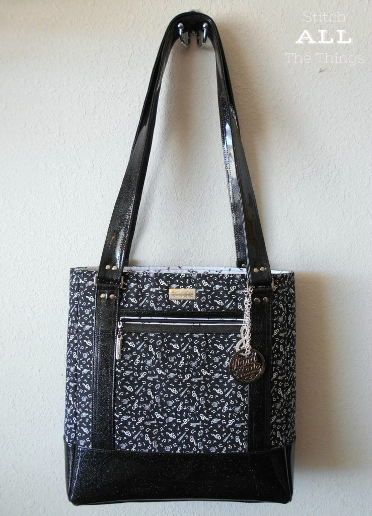 Tudor Bag sewn by Christine