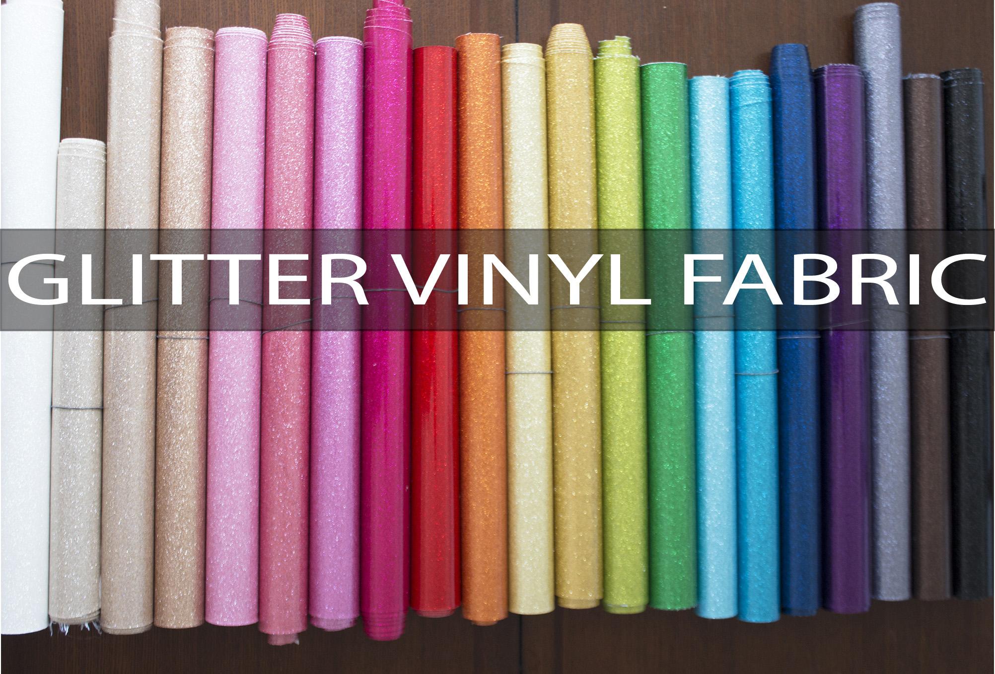 Glitter Vinyl Fabric from Sew Sweetness