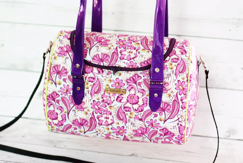 Tortoise Bag sewn by Roar Haus