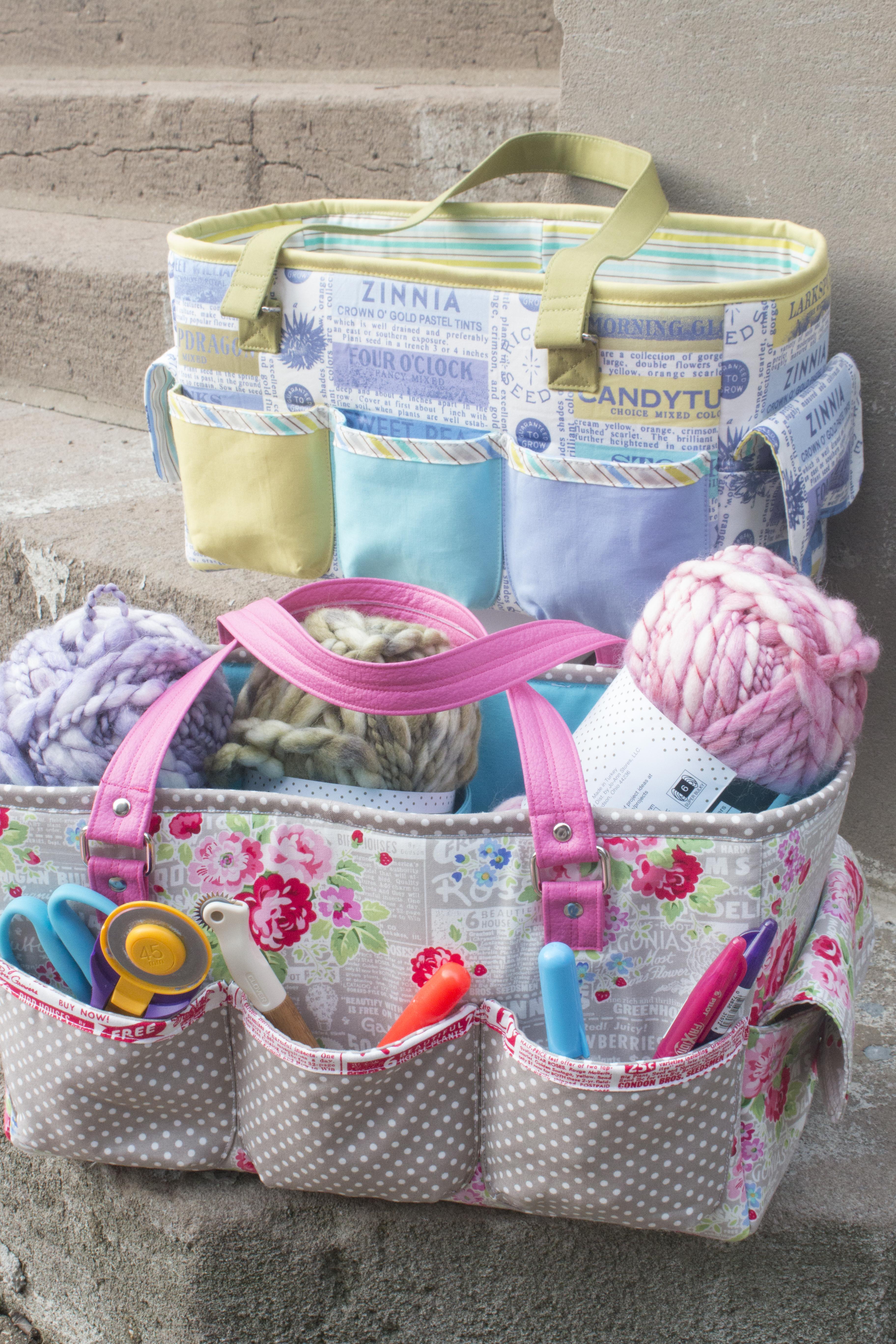 FREE Sew Sweetness Oslo Craft Bag sewing pattern