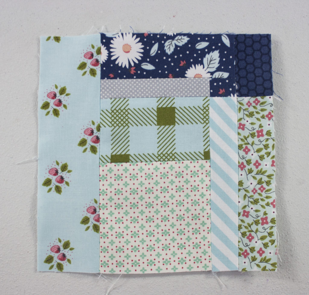 Splendid Sampler Prism Block