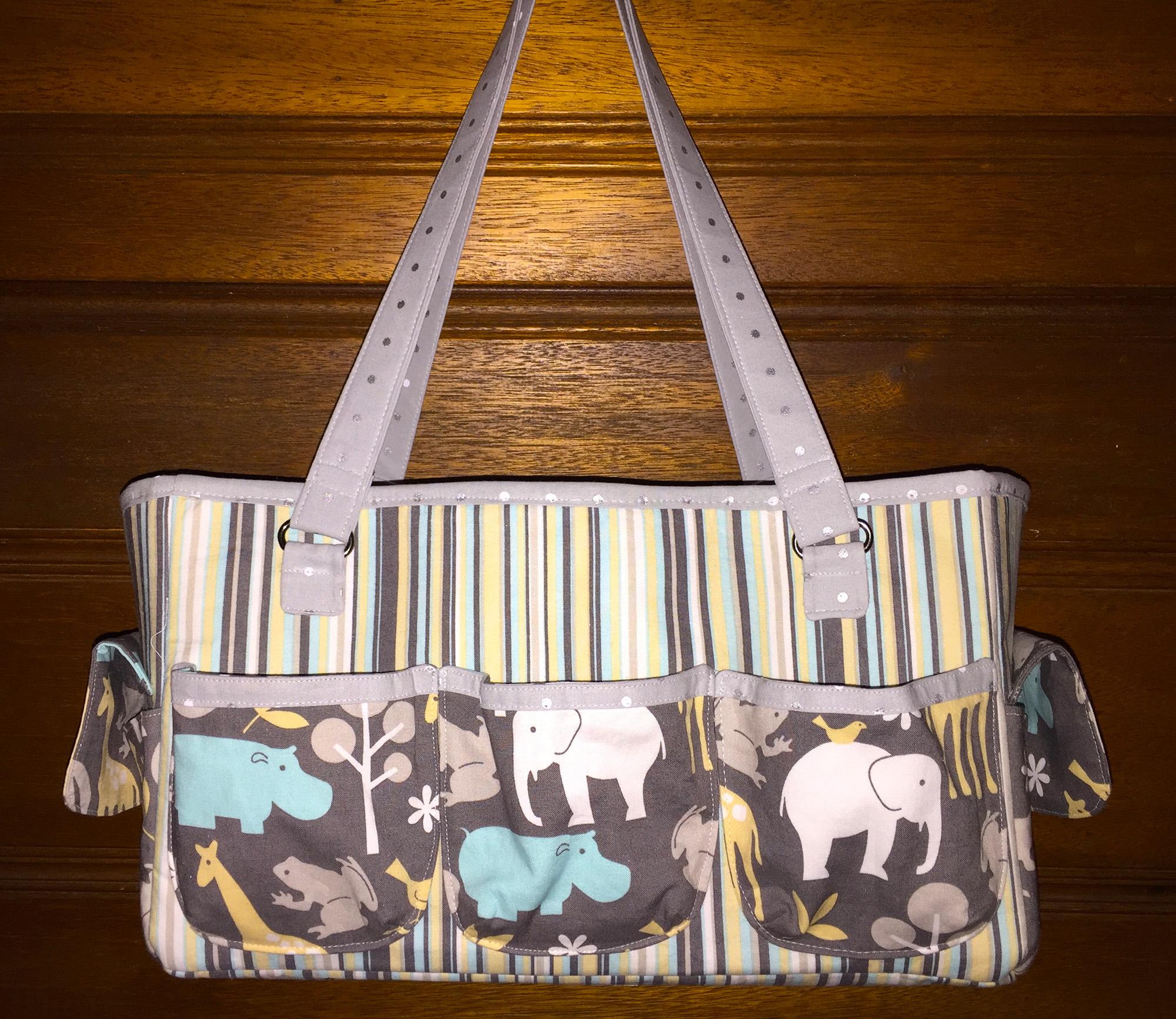 Sew Sweetness Oslo Craft Bag, sewn by Susan of SB Stitching
