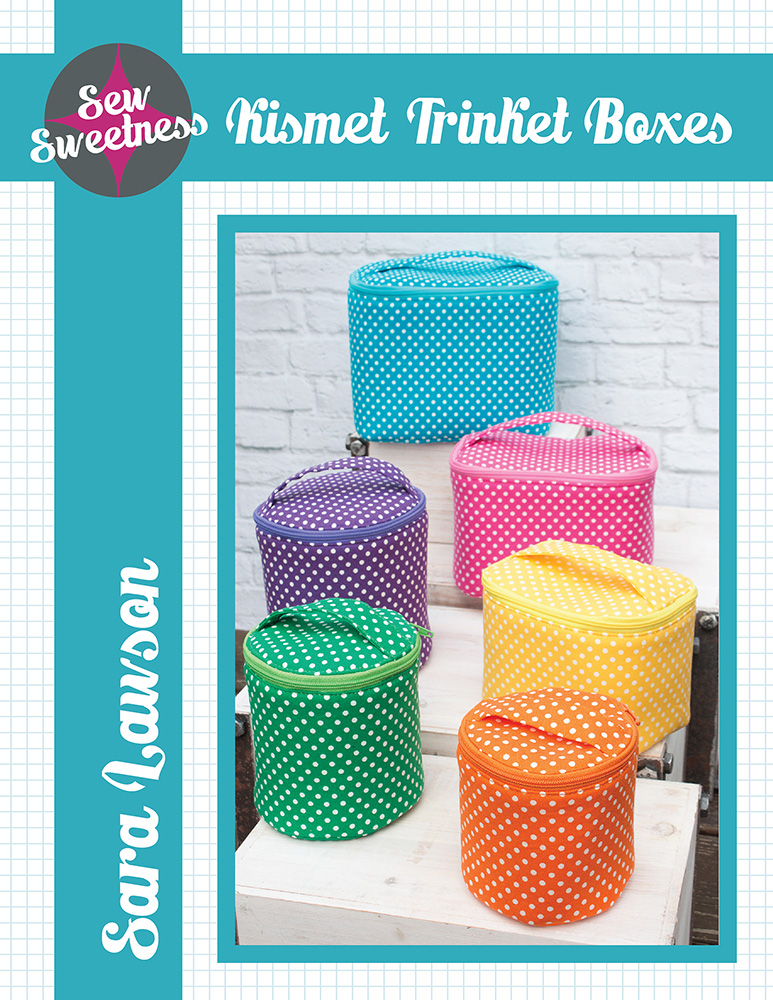 Sew Sweetness Kismet Trinket Boxes sewing pattern