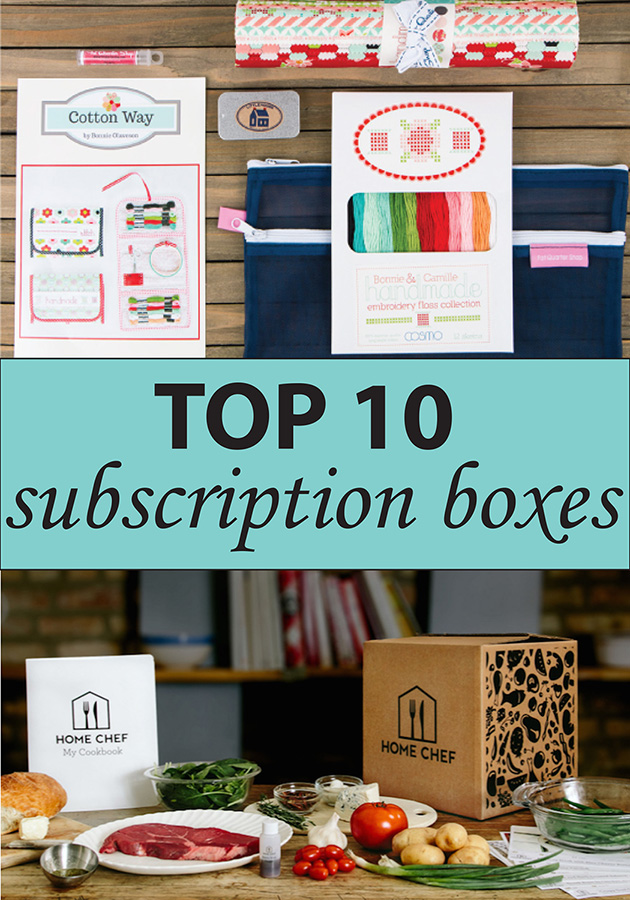 Gift Guide Top 10 Subscription Boxes Sew Sweetness
