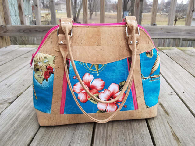 Sew Sweetness Sublime Bag sewing pattern, sewn by Bree of My Crafty Crap