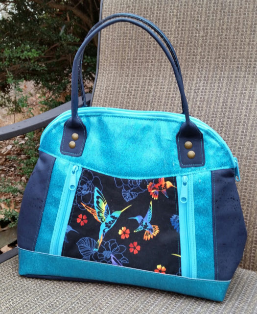 Sew Sweetness Sublime Bag sewing pattern, sewn by Lori