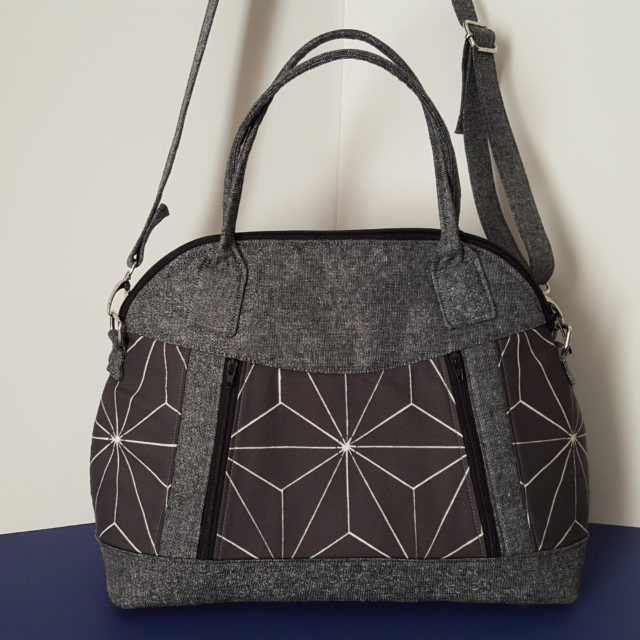 Sew Sweetness Sublime Bag sewing pattern, sewn by Melissa