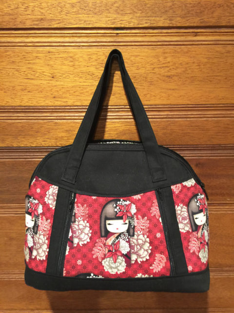 Sew Sweetness Sublime Bag sewing pattern, sewn by Susan of SB Stitching