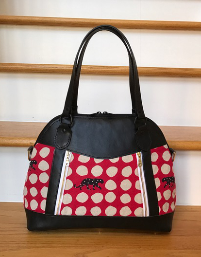 Sew Sweetness Sublime Bag sewing pattern, sewn by Chris