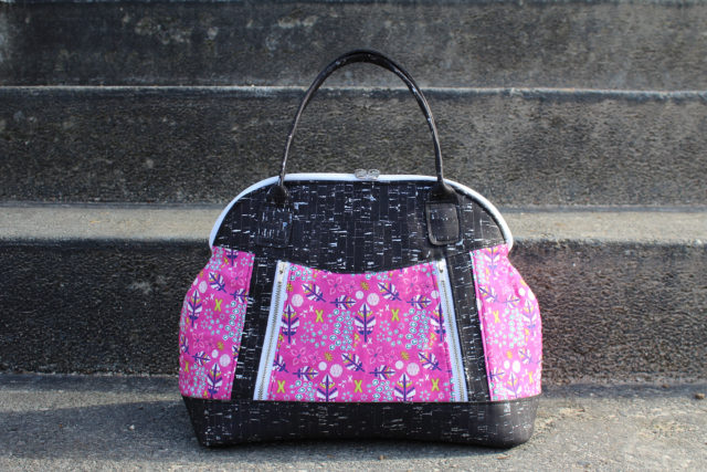 Sew Sweetness Sublime Bag sewing pattern, sewn by Reece of Happy Okapi
