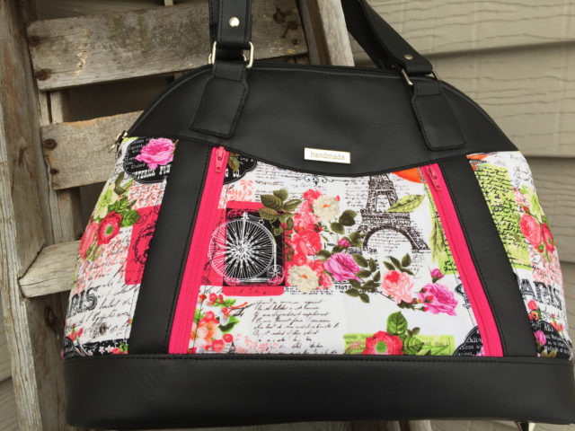 Sew Sweetness Sublime Bag sewing pattern, sewn by Teresa