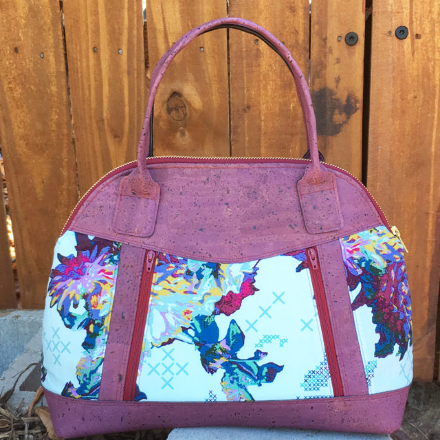 Sew Sweetness Sublime Bag sewing pattern, sewn by Terry