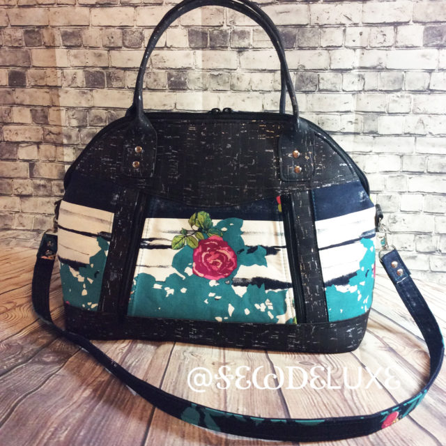 Sew Sweetness Sublime Bag sewing pattern, sewn by Laura