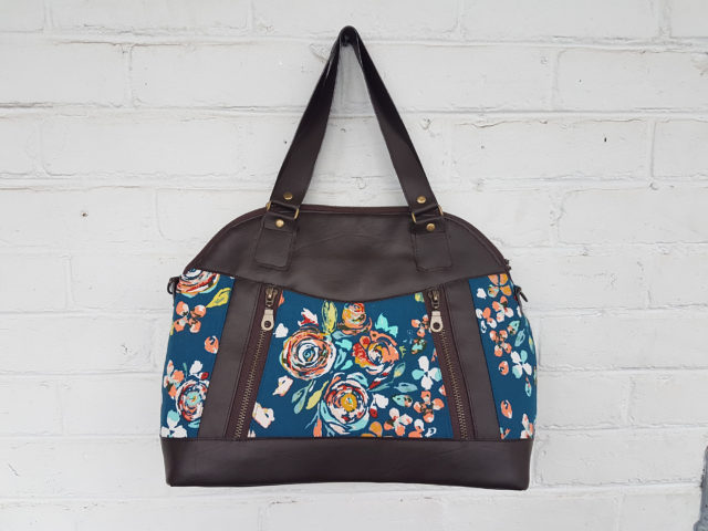 Sew Sweetness Sublime Bag sewing pattern, sewn by Kim