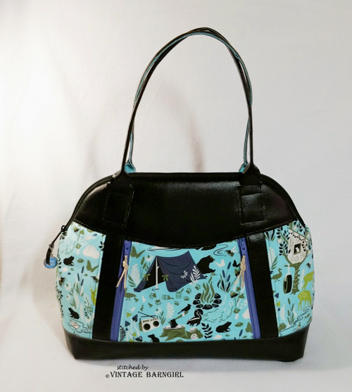 Sew Sweetness Sublime Bag sewing pattern, sewn by Vanessa