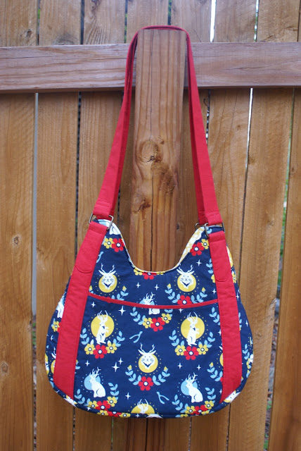 Sew Sweetness Hey Mercedes Bag sewing pattern, sewn by Dresden Lane